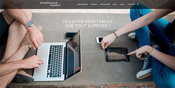 Simplifiez vous le web agence web Paris Bourges