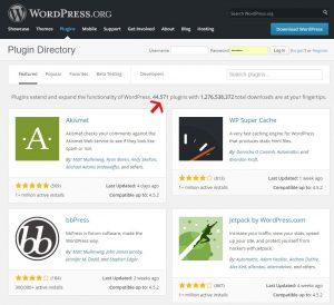 Les nombreux plugins de WordPress