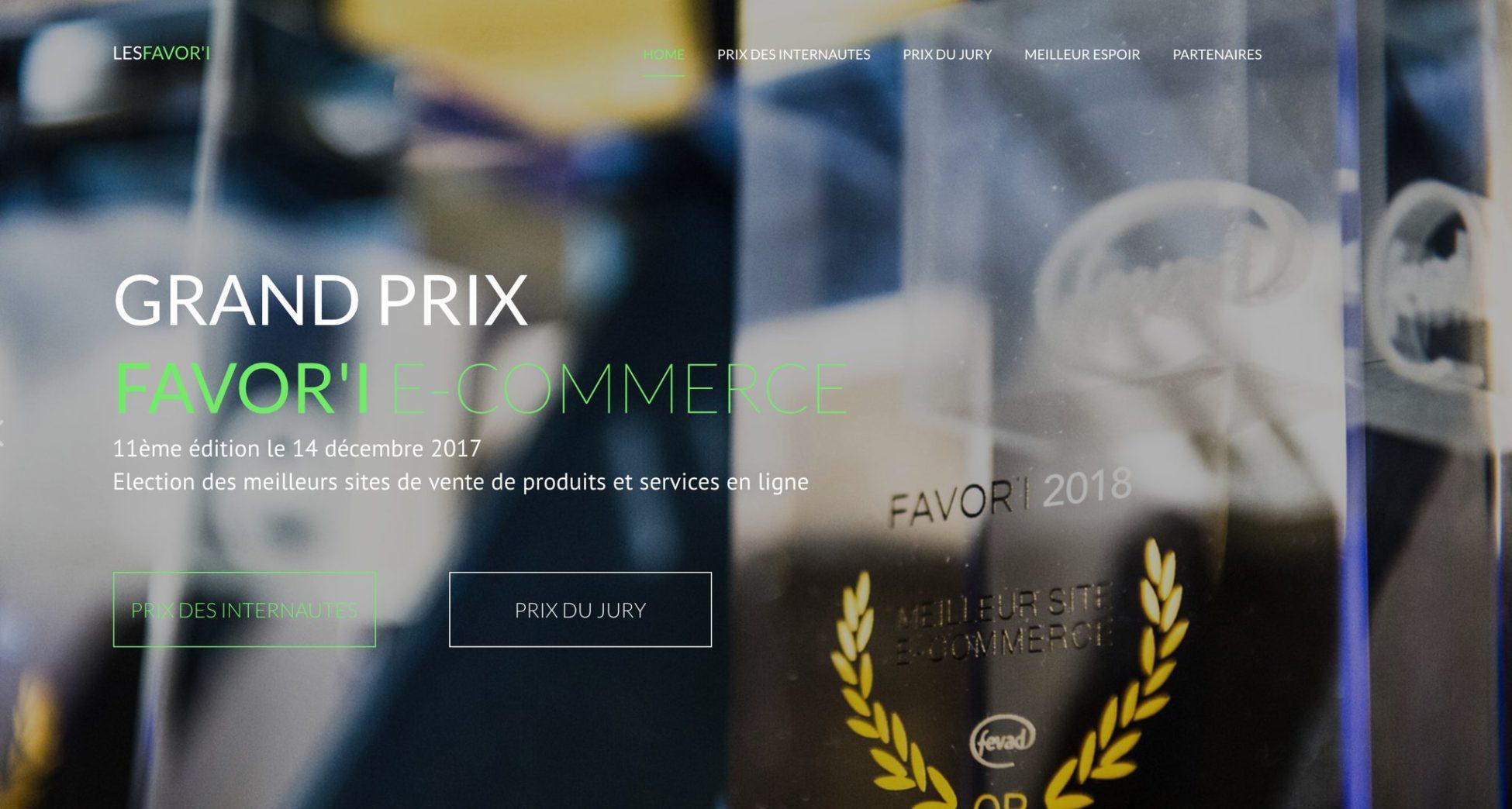 d4a1037c94c 11e édition du Grand prix favori E-Commerce 2018 - Web18 création de ...