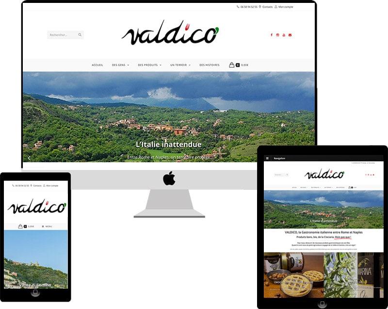 VALDICO VENTE DE PRODUITS ITALIENS