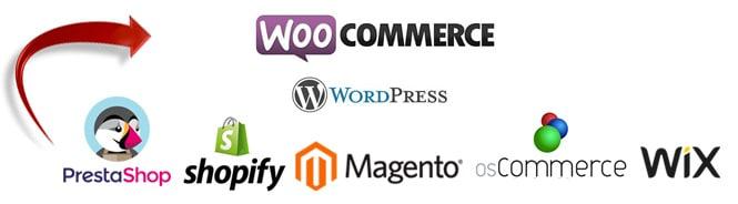 Migration site ecommerce prestashop vers WooCommerce paris bourges